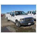 2002 Ford F250 Pickup with Utility Bed