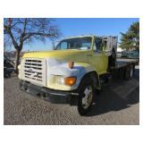 1998 Ford Flatbed Truck