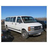 2000 Chevrolet Express Passenger G3500 LS Van