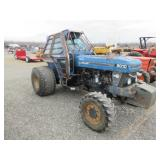 New Holland 8010 Wheel Tractor w/Cab
