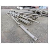 """Assorted 4"""" & 6 Aluminum Irrigation Pipe"""
