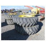 (4) Firestone 20.8R42 Tires & Rims