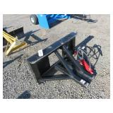 Unused Easy Man Hydraulic Tree Post Puller
