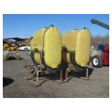 (2) Demco 250 Gallon Spray Rig Tanks