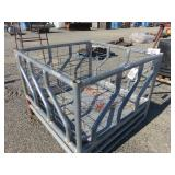 . Heavy Duty Galvanized Livestock Feeder