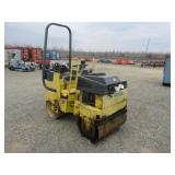 Double Smooth Vibratory Roller