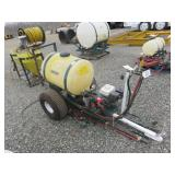 50 Gal PBM Trailer Sprayer