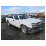 2004 Chevrolet Silverado 1500 Work Truck Single Ca