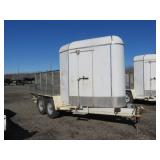 2001 Built Rite Utility Trailer