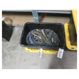 (1) Box of Assorted Welding Leads & Grounds