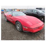 1985 Chevrolet Corvette Base Hatchback