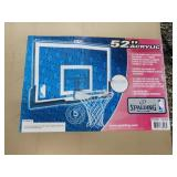 Acrylic Basketball Backboard and Hoop