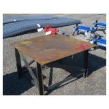 Metal Welding Table w/Vice
