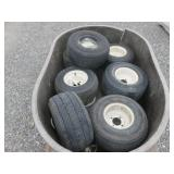 Pallet of Golf Cart Tires