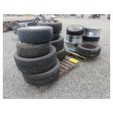 Assorted Tires & Rims