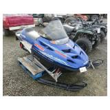 2002 Polaris RMK 550 Snowmobile