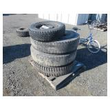 (4) Assorted Tires & Rims