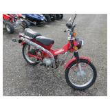 1984 Honda Trail 110 Trail Bike