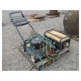 Assorted Lawnmower, Generator, and More