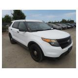 (DMV) 2013 Ford Explorer Police Interceptor SUV