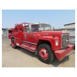 (DMV) Project 1978 International 1700 Fire Truck