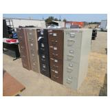 (5) Assorted File Cabinets