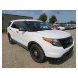 (DMV) 2015 Ford Explorer Police Interceptor SUV