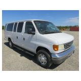 (DMV) 2007 Ford E-Series Wagon E-350 SD XL Full-Si