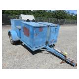 (DMV) . Pressure Washer Trailer . Equipment Traile