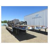 (DMV) 1981 Trancraft . . Step Deck Trailer