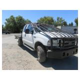 (DMV) 2005 Ford F-250 Flat Bed Spray Tug