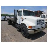 (DMV) 1993 International 4700-DT466 Flat Bed