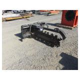 "48"" Bobcat Skidsteer Trencher Attachement"