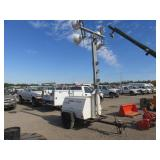 OFF-ROAD Terex Amida . Towable Light Tower