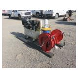 Portable Compressor & Grease Pump .