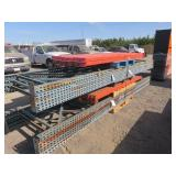 (2) Assorted Bundles of Pallet Racking