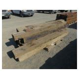 Approximately (14) Railroad Ties