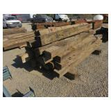 Approximately (24) Railroad Ties