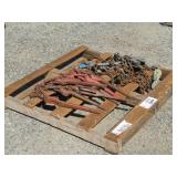 Pallet of Assorted Chain Binders & More