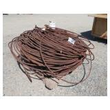 Large Bundle of Rusted Cable