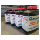 (4) Bottles of Accurate Smokeless Powder