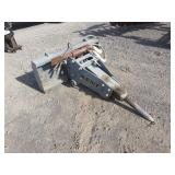 Kent Skidsteer Hydraulic Hammer Attachment