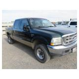 (DMV) 2001 Ford F-250 Super Duty Lariat Pickup