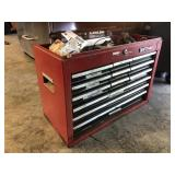 Craftsman Tool Box Loaded with Tools & More