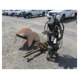 Extreme Duty McMillen Backhoe Auger Attachments Bi