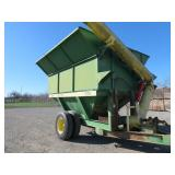 John Deere 1210 Rice Cart