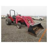 Massey Ferguson 4345 Wheel Tractor w/ Loader