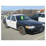 (DMV) 2008 Ford Crown Victoria Police Interceptor