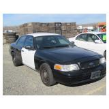 (DMV) 2010 Ford Crown Victoria Police Interceptor