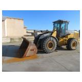 OFF SITE PROJECT John Deere 644K Wheel Loader